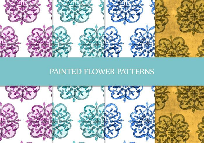 Painted Floral Patterns