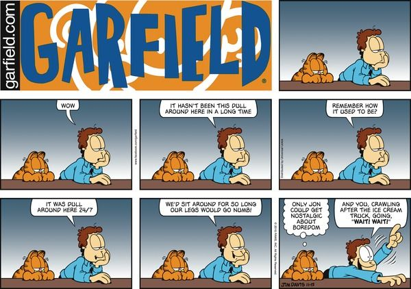 Garfield Comic Strip, November 15, 2015 on GoComics.com