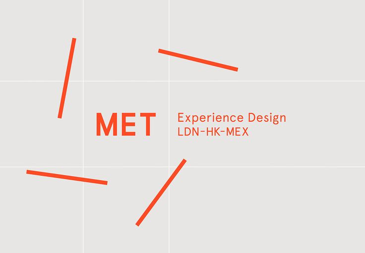 """Met Studio, has been rebranded by Midday with a new identity system and the tagline """"Experience Design"""". Met Studio, which this year won the Age of Design award at the Design Week Awards, now has a new red, grey and white colour palette and a new Apercu regular font. The square box, which contains Met'slogo …"""