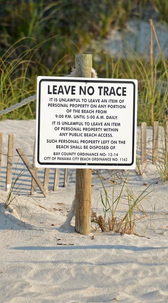Panama City Beach Bay County Florida.... love this new law.