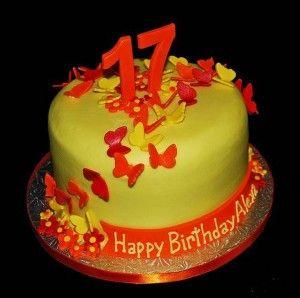 Birthday Cake 17 Years Old