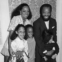 Tracee Ellis Ross, Diana Ross, Rhonda Ross Kendrick, Berry Gordy and Chudney Ross
