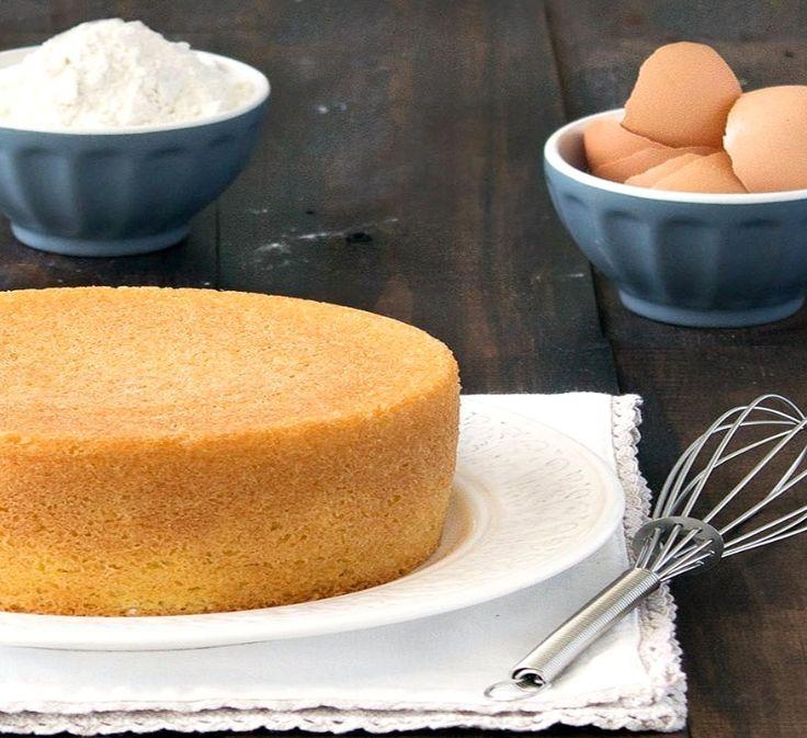 Na Cozinha da Margô: Receita Perfeita de Pão de Ló para Bolos recheados