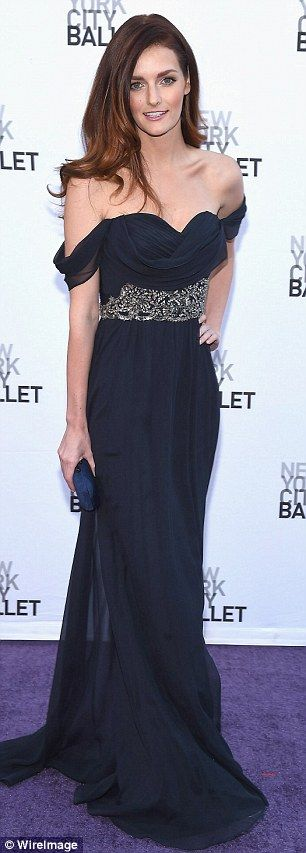 Lydia Hearst at the New York City Ballet's Fall Gala