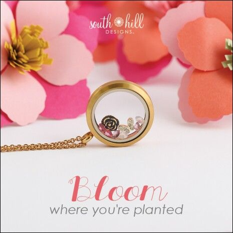 Locket of the Month  www.southhilldesigns.com/izzydesigns