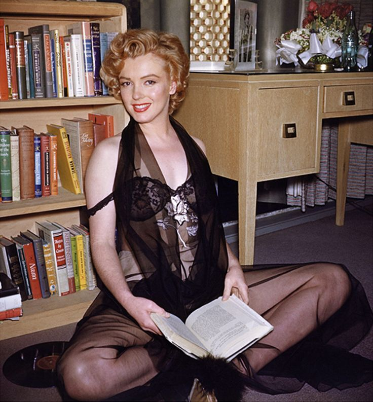 Marilyn Monroe by Philippe Halsman, January 1952: Harold Lloyd, Marilyn Monroe, Lingerie, Philippe Halsman, Art, Book, Norma Jeans, Photo Galleries, Marilynmonro
