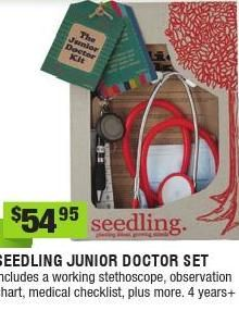 My 3yo loves to play doctor and to look after his family. This would make his pretend play that little bit more realistic. #entropywishlist #pintowin #ClippedOnIssuu from Entropy Christmas Catalogue 2014