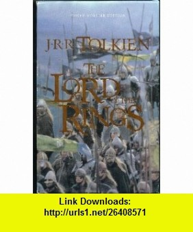 The Fellowship of the Ring , The Two Towers,  The Return of The King (The Lord of the Rings Ser.) THREE VOLUME SET J. R. R. Tolkien, Alan Lee ,   ,  , ASIN: B000X6KECA , tutorials , pdf , ebook , torrent , downloads , rapidshare , filesonic , hotfile , megaupload , fileserve