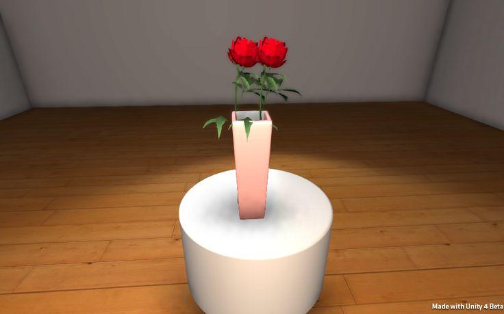 Kompozycje kwiatowe 3D