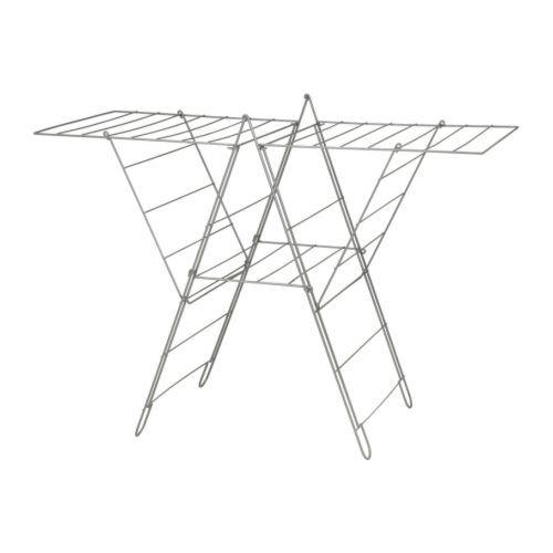 10 FROST Wäscheständer IKEA Auch für draußen geeignet; UV-geschützter Kunststoff verringert das Risiko von Sprüngen und eindringender Feuchtigkeit.