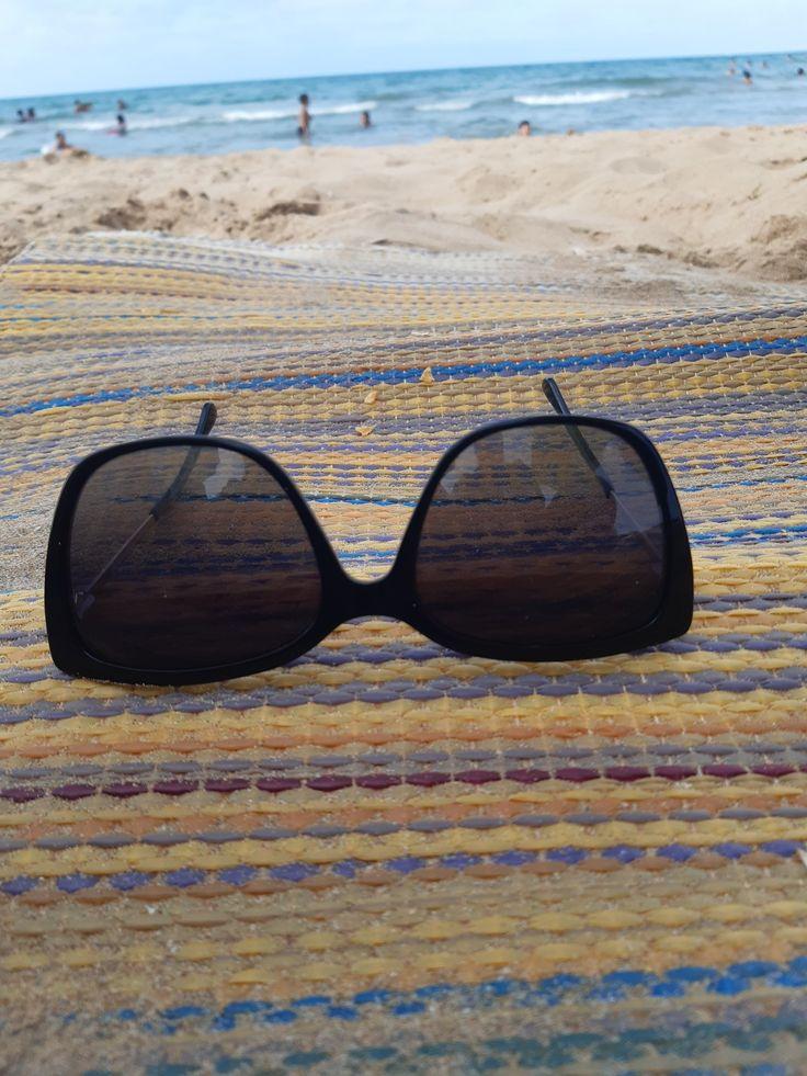 La Plage Cat Eye Sunglasses Sunglasses Square Sunglass