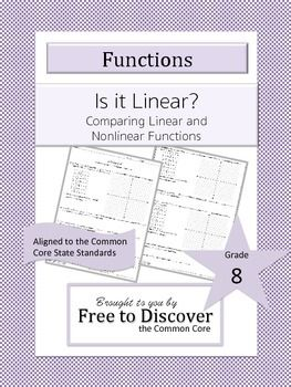 comparing linear and nonlinear functions discovery worksheet equation student and the o 39 jays. Black Bedroom Furniture Sets. Home Design Ideas