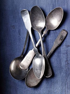 How to Clean Flatware - Homemade Silver Polish Aluminum Foil - Good Housekeeping
