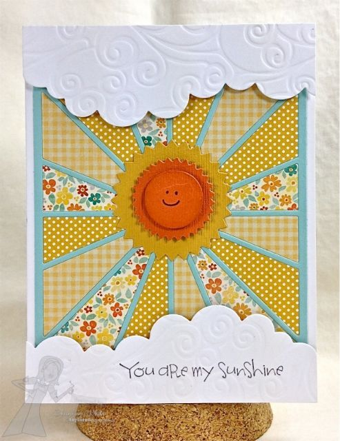 You are my Sunshine Card By Shannon White #Summerfun, #Cardmaking, #Encouragement
