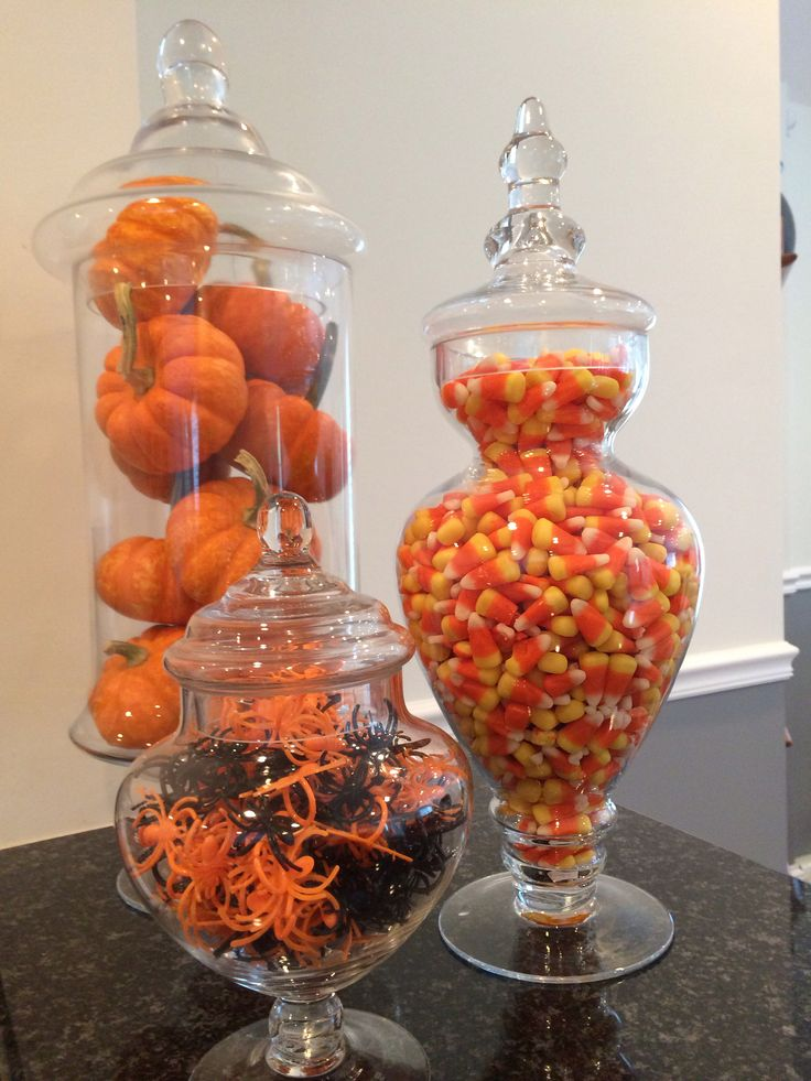 Halloween apothecary jars!!!