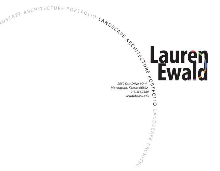 Lauren Ewald Landscape Architecture Portfolio By Lewald Via Slideshare