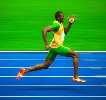 How does Usain Bolt train?  Great article!