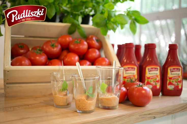 Sorbet z ketchupu z wanilią.  #pudliszki #przepis #wegetariańskie #ketchup #wanilia