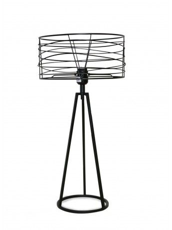 Albert Black Table Lamp 65cm x 32cm