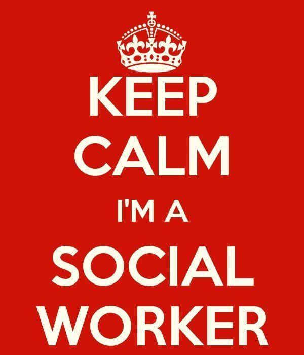 Social Worker Is My Job Title!
