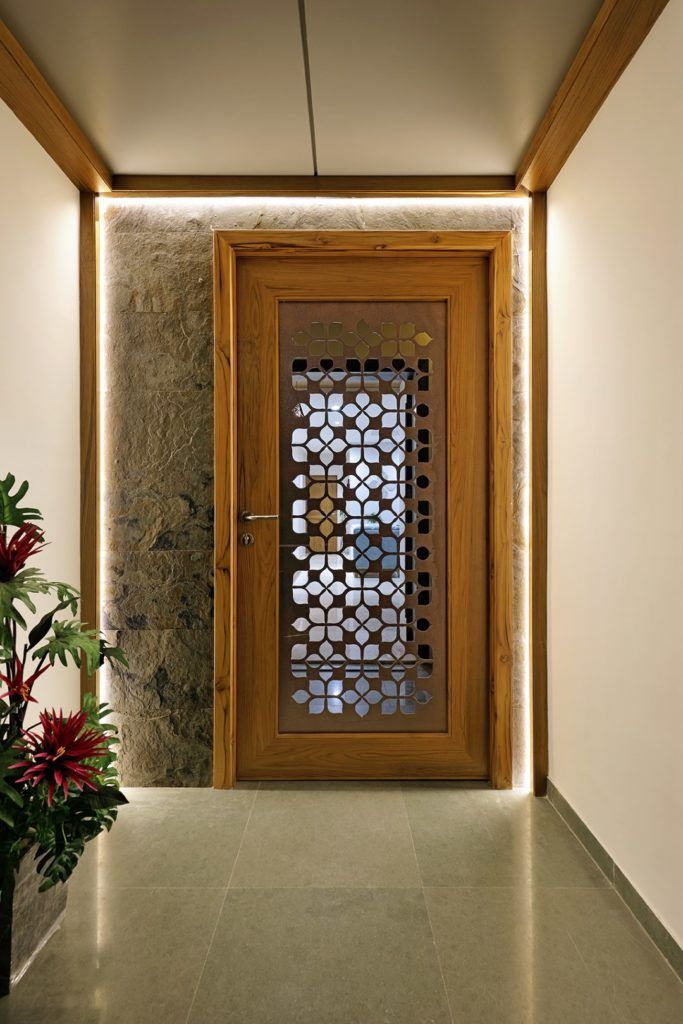 Image Result For Contemporary Bedroom Door Designs: Floral Pattern Inspires Apartment Interiors