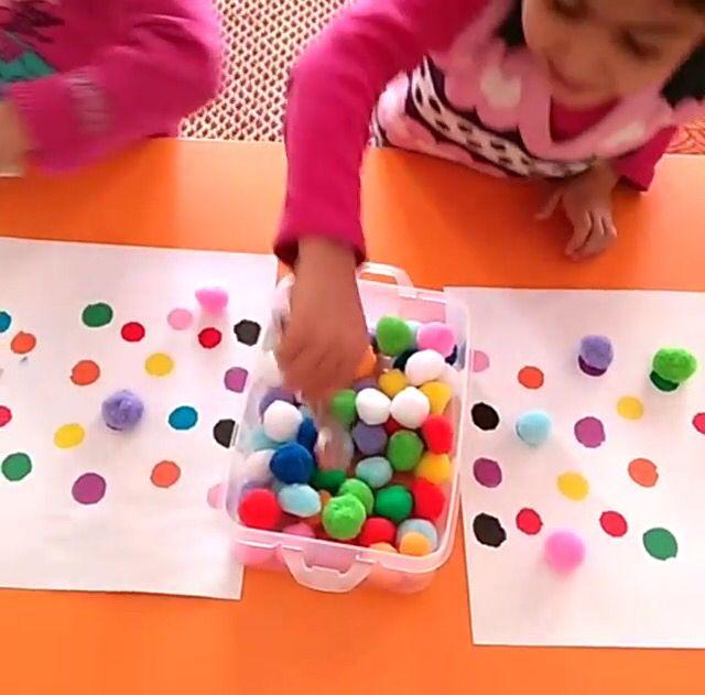 Renk eşleştirme oyunu ❤️