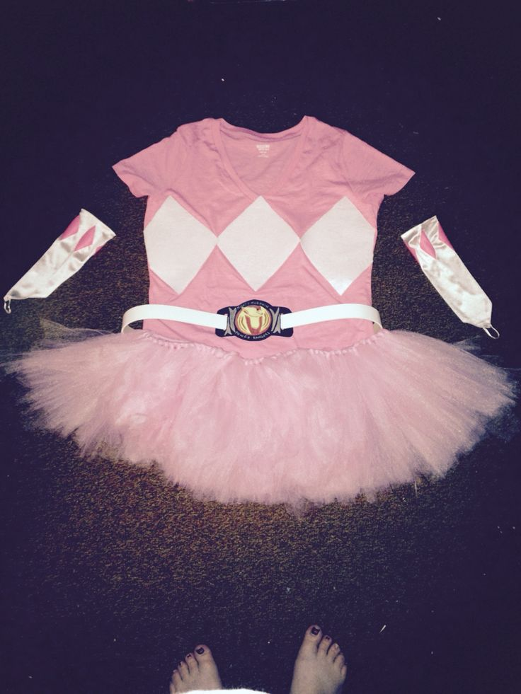 My own DIY Power Ranger costume. Every bit of it hand crafted by me.