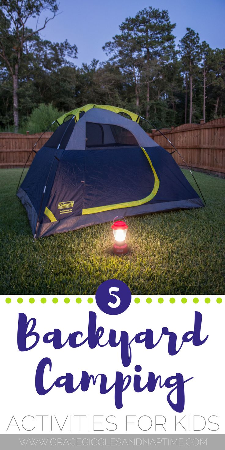best 25 backyard camping ideas on pinterest camping tricks