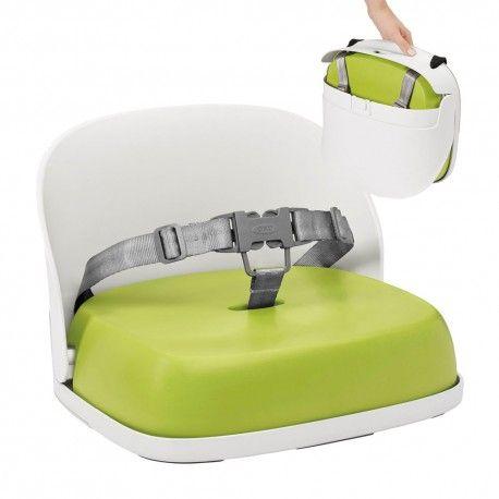Oxo Tot Stoelverhoger Groen  Deze stoelverhoger kan je zowel thuis als op verplaatsing gebruiken voor kindjes vanaf 18 maanden.