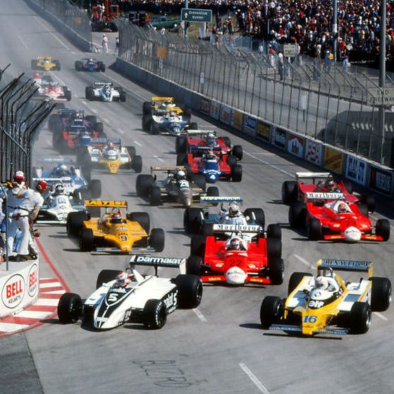 1982 United States Grand Prix West – Full Race