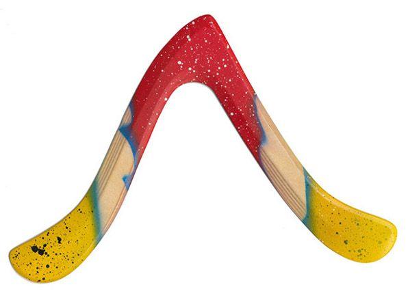 Spinning Slim II - Einsteigerbumerang und nach einigem Tuning Trick-Catch- und Trainings-Fast-Catch-Boomerang