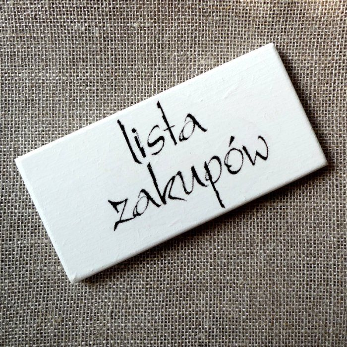 magnes na lodówkę (proj. Szuflada Duszy), do kupienia w DecoBazaar.com