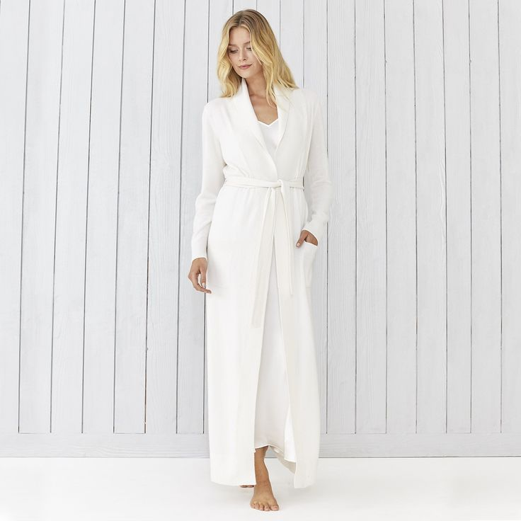 Cashmere Shawl Collar Robe | Robes  | Sleepwear | Clothing | The White Company US