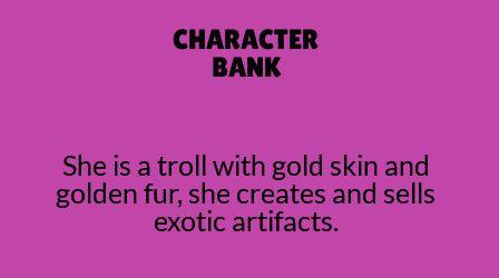 Golden troll.