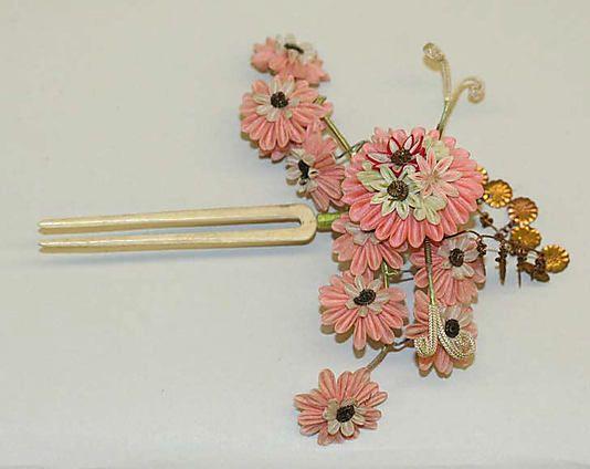 Chinese hairpin, 1800–1938.