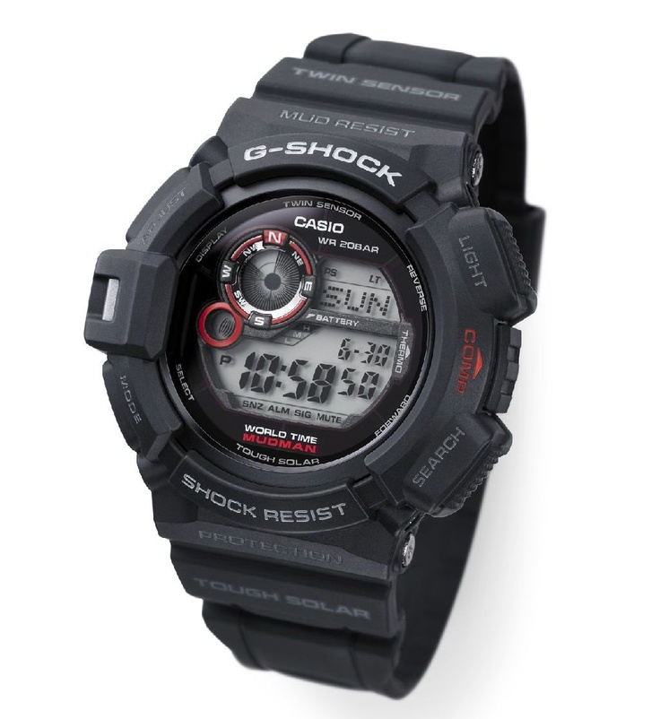 Casio G9300-1ER Mudman G-Shock Watch (2011)