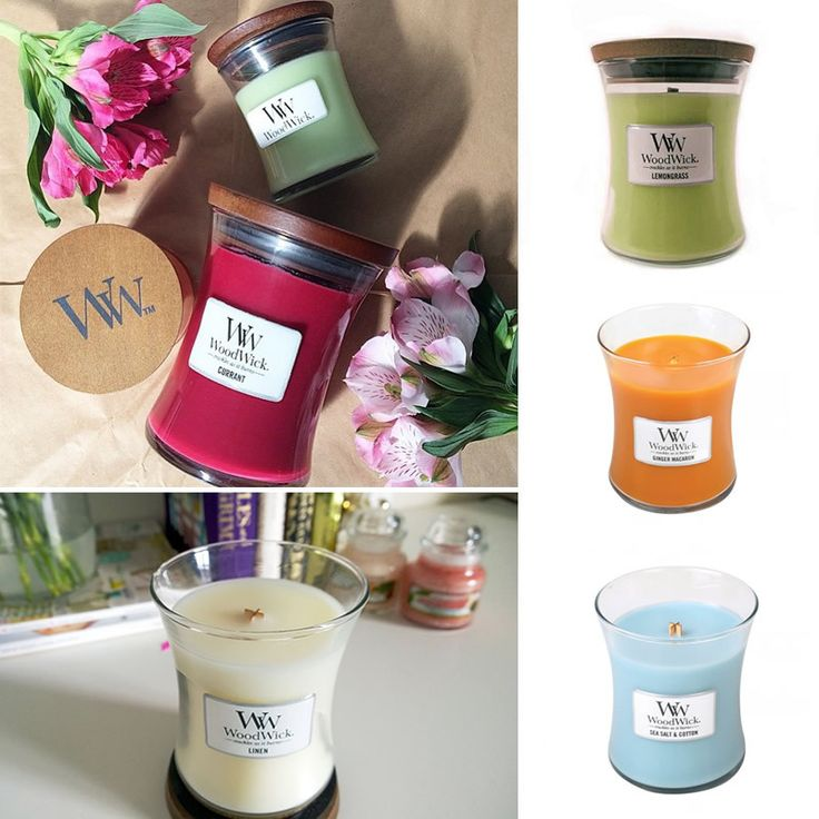 Woodwick Pluswick Candle - Poppy's Home & Garden