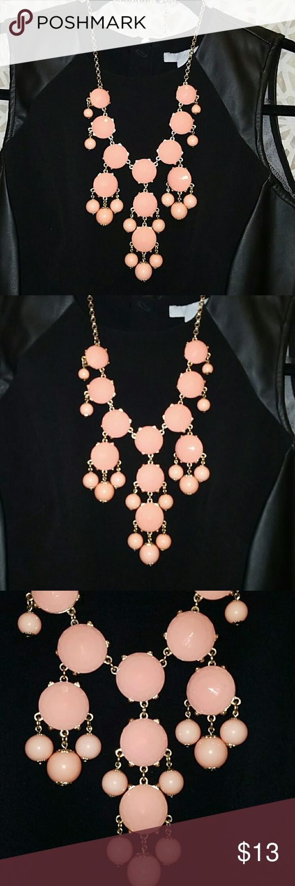 Coral bubble necklace Francescas coral necklace - all one color Francesca's Collections Jewelry Necklaces
