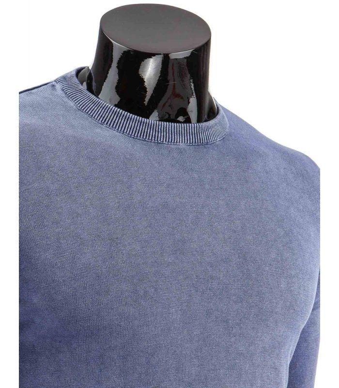Pánsky modrý sveter