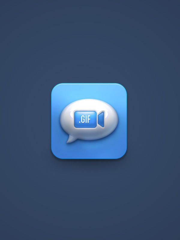 Gif Massage icon by Ilham Herry, via Behance