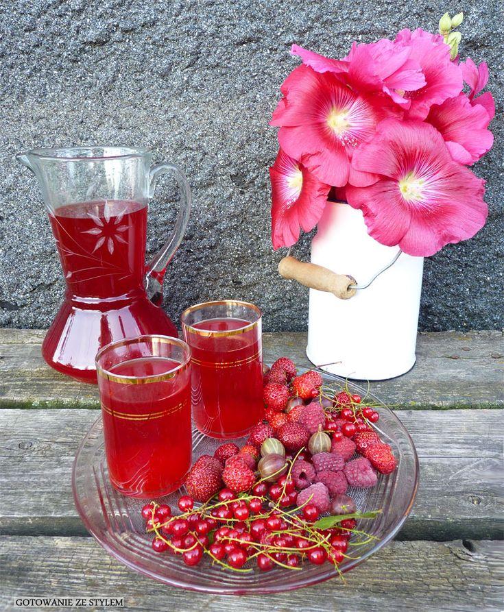 Fresh fruit drink   Gotowanie ze stylem