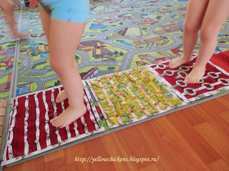 Ни минуты покоя: Массажные коврики для детей