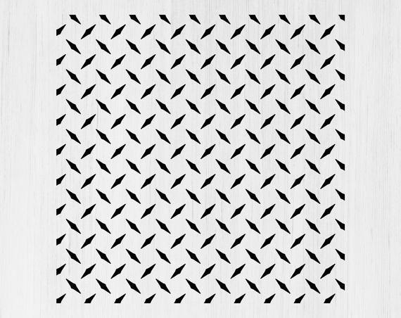 Diamond Plate Svg Diamond Plate Pattern Diamond Plate Etsy In 2021 Diamond Plate Stencil Patterns Svg