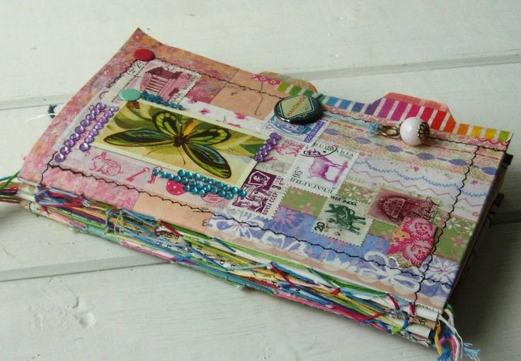 Jennibelle.....  gorgeous handmade journal... Lots of good stuff here ks#Repin By:Pinterest++ for iPad#
