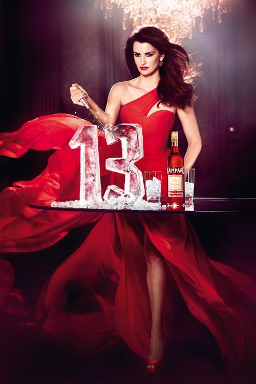 "Todas las fotos de Penélope Cruz  en el calendario Campari 2013 (""Kiss Superstition Goodbye"")"