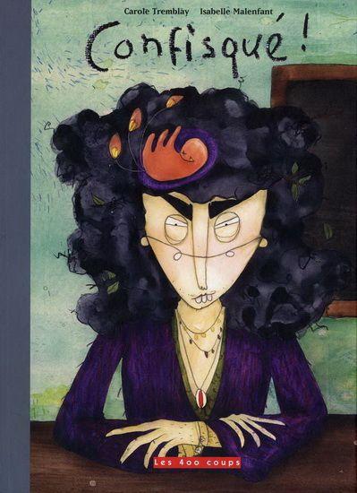 Malin constate que son enseignante, mademoiselle Bonsoir, est encore absente…