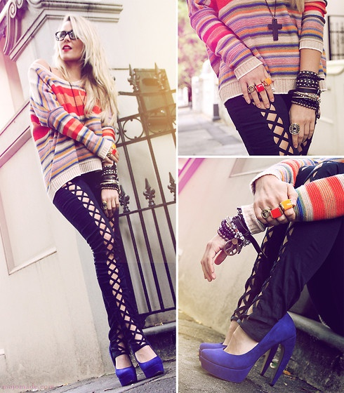 Love Horizon Sunset Knit Jumper, House Of Wilde Kung Fu Black Pants, Lotus Mendes Goddess Rings, Tony Bianco Alicante Suede Shoes