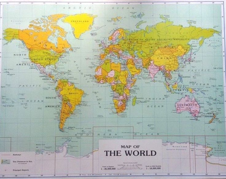 512 best POSTER images on Pinterest Wall art, Art posters and - new world map political