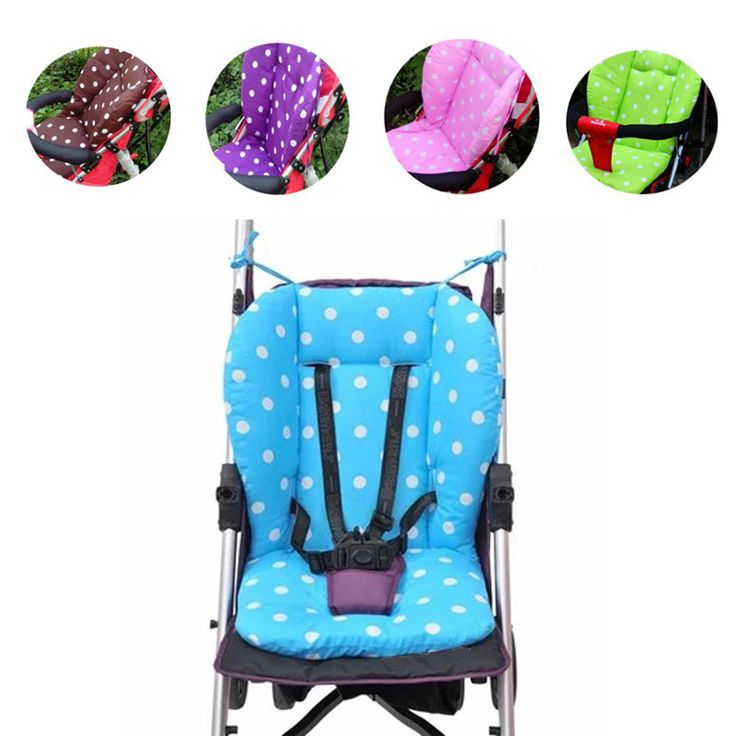 Baby Infant Stroller Seat Pushchair Cushion Cotton Mat with White Dot #>=#>=#>=#>=#> Click on the pin to check out discount price, color, size, shipping, etc. Save and like it!