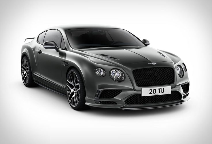 Bentley Continental Supersports | Bentley have just announced the mind-blowing new Continental Supersports, the most powerful Bentley ever made with 700 bhp and 750 lb. ft. of torque!